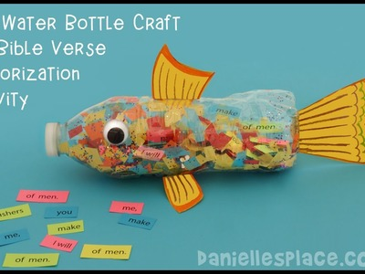 Fish Water Bottle Craft and Activity - View it and Do it! Craft