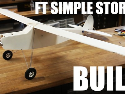 Flite Test - FT Simple Storch - Build
