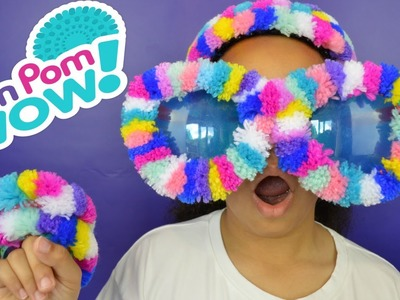 NEW PomPomWow Decoration Station - DIY Creative Kids Craft - PomPom Wow Designs |  Kids Tutorial