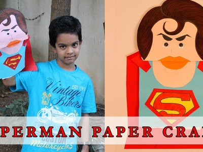 Superman Mask Tutorial | Summer Special | Easy Paper Craft For Kids