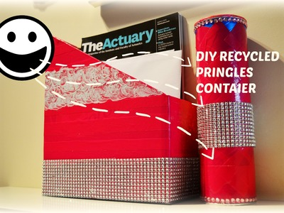 Diy Crafts Projects : best out of waste project.kids friendly recycled pringles.
