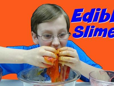 DIY Edible Kool-Aid Slime | CollinTV