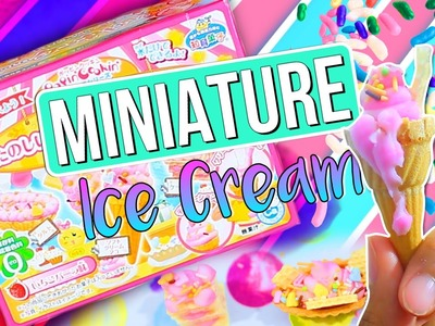 DIY Mini EDIBLE Ice Cream!