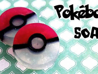 DIY Pokeball Soap. Pokemon Inspired Handmade Soap. DIY Soap Making. Pokémon DIY