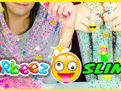 ORBEEZ SLIME PINTEREST DIY! EMOJI SLIME! HOW TO MAKE BORAX SLIME