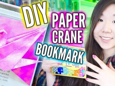 USEFUL ORIGAMI DIY ║ Paper Crane Bookmark
