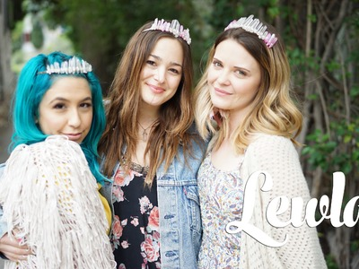 DIY CRYSTAL CROWNS | Lewla