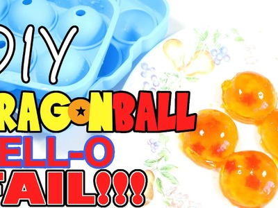 DIY Dragonball Jell-O FAIL!!!