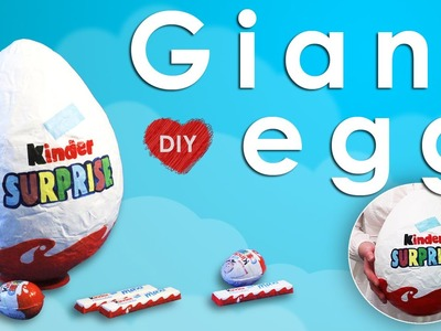 DIY - Giant Kinder Surprise Egg