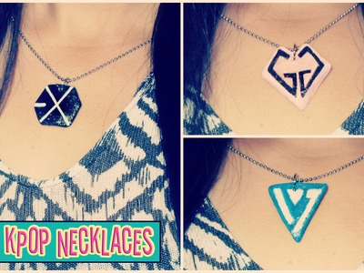 DIY KPOP Necklaces