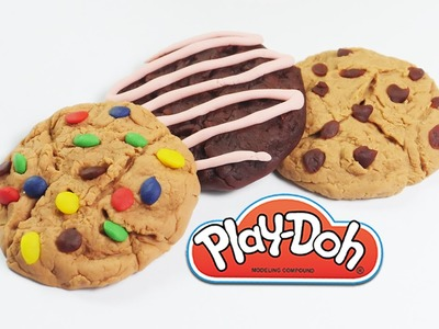 DIY Play-doh cookie tutorial how to make playdoh cookies
