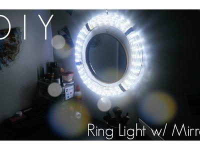 DIY Ring Light With Mirror!