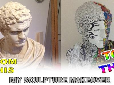 DIY Sculpture Pop Art Makeover