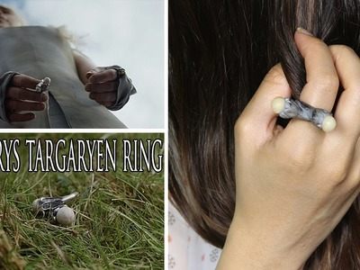 Game of Thrones Khaleesi Ring DIY ♥