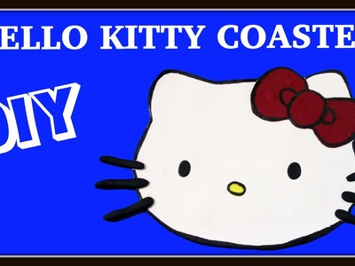 How to Make a Hello Kitty Drink Coaster DIY ~ Another Coaster Friday Craft Klatch