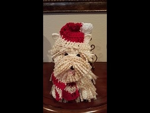 Crochet Westie Amigurumi Dog DIY Tutorial Part 2 of 2.