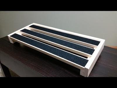 Diy $12 pedalboard