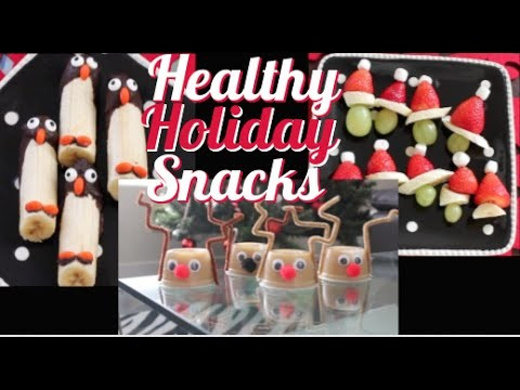 DIY: Healthy Holiday Snacks