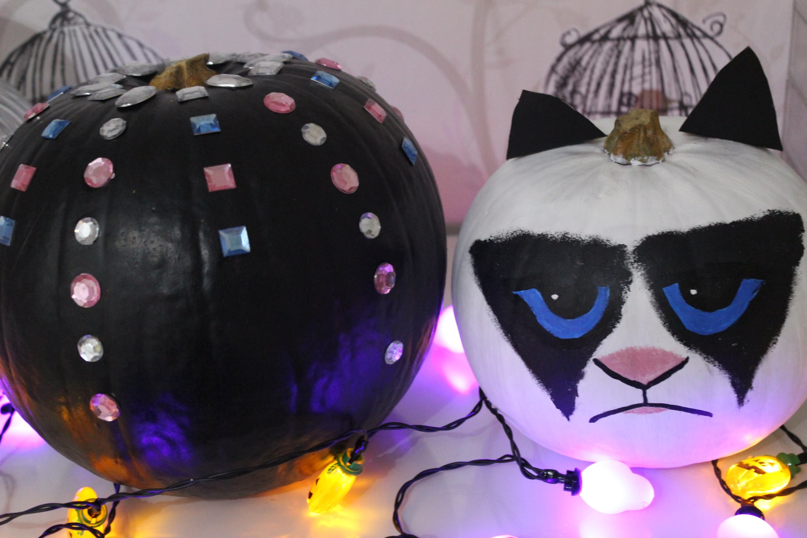 DIY Pumpkin Decor | Halloween