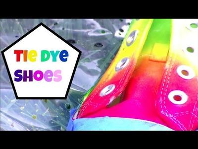 DIY Tie Dye Shoes!