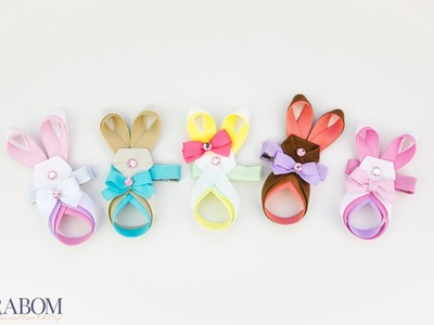 Easter Bunny Ribbon Sculpture Tutorial