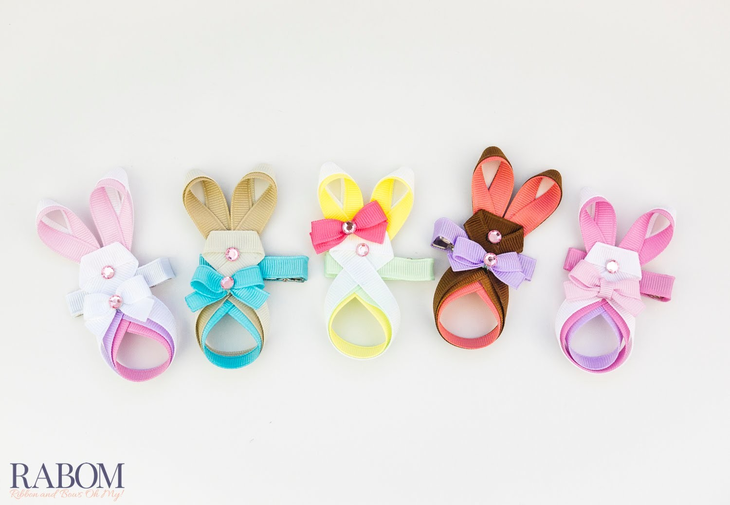 Easter Bunny Ribbon Sculpture Tutorial