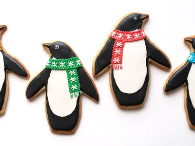 How To Decorate Penguin Cookies!