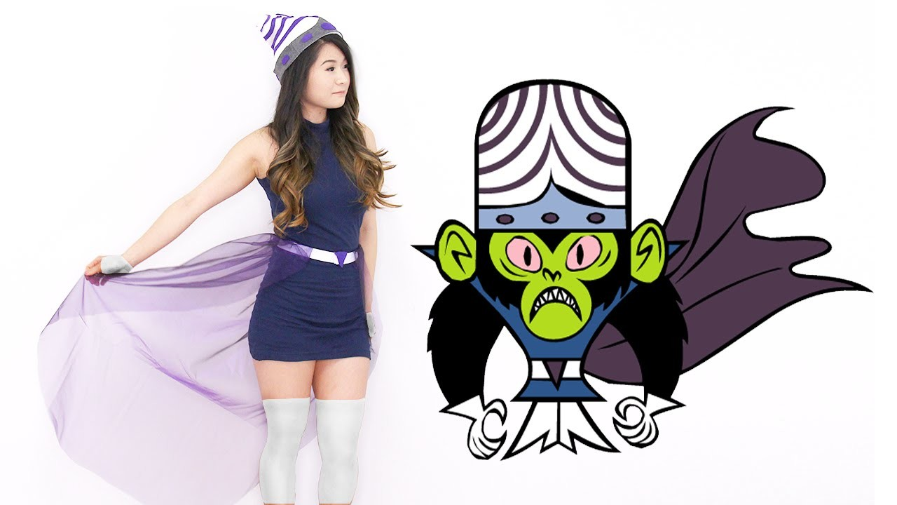 How to | DIY PowerPuff Girls Mojo Jojo Adult Costume | Halloween