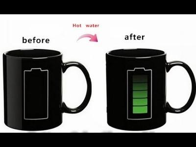 How to make a Temperature Mug. MAGIC MUG