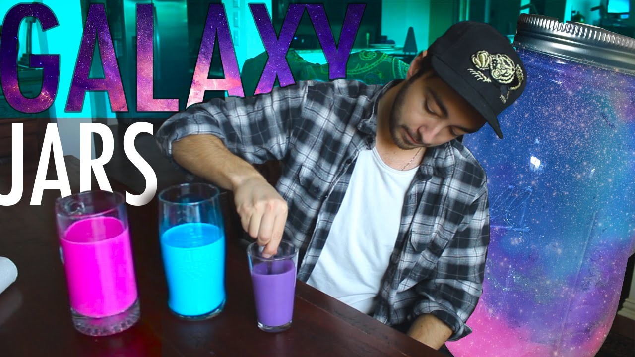 How To Make GALAXY JARS!