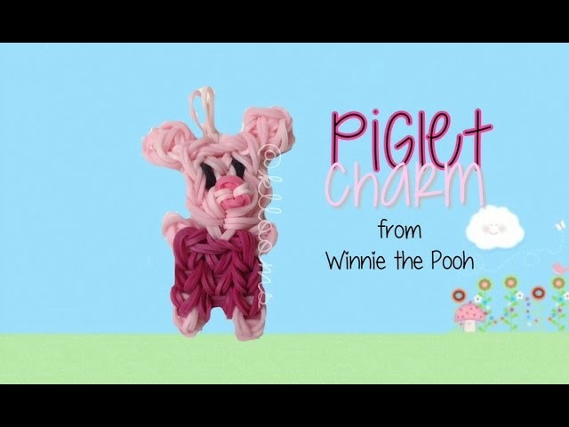 NEW Piglet Charm Tutorial   How To