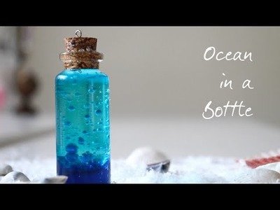 Ocean in a Bottle DIY