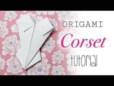 Origami Corset. Bodice Instructions