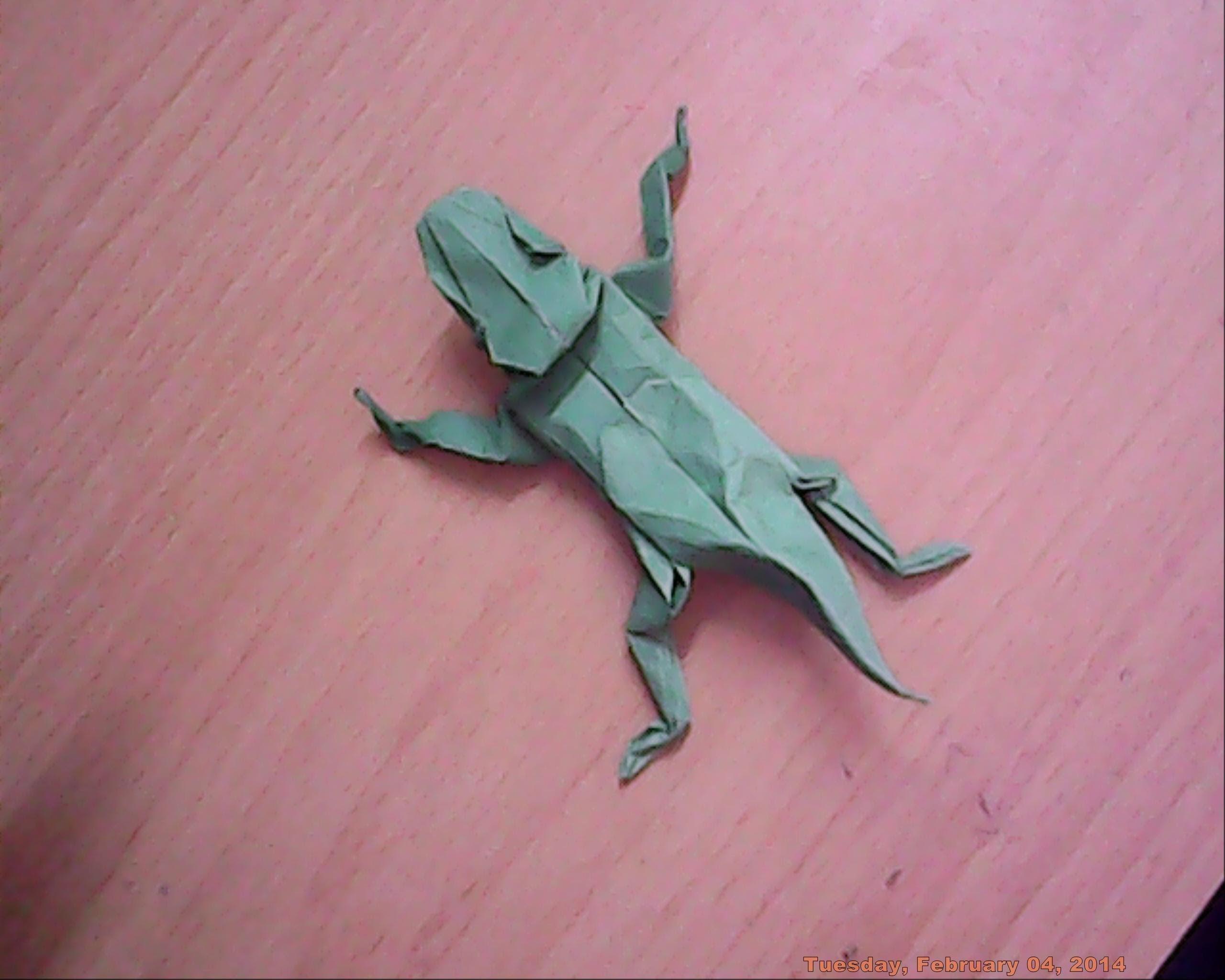 Origami Lizard - Swapnil Das - Part 1