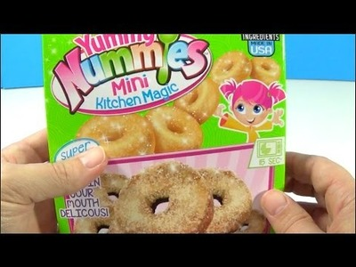 Unboxing Yummy Nummies Mini Kitchen Magic Donut Delight Maker DIY Kit
