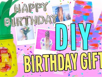 DIY Birthday Gifts for Everyone! Cheap and Easy!