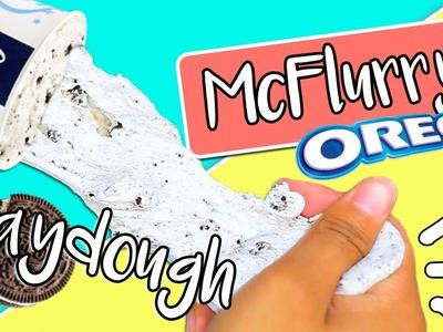 DIY EDIBLE McFlurry Playdough