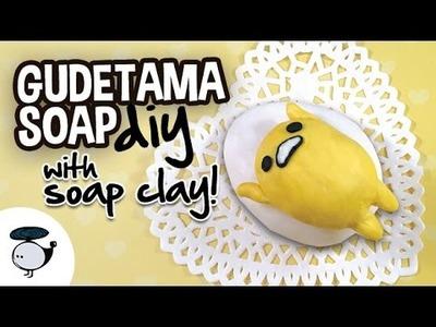DIY Gudetama Soap (with soap clay!)