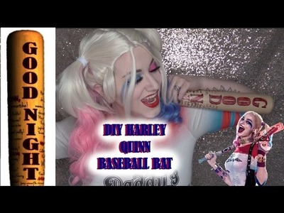 DIY: Harley Quinn BaseBall Bat from Suicide Squad