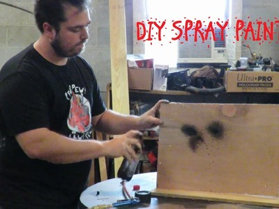 DIY home made Reusable  Spray Paint bottle