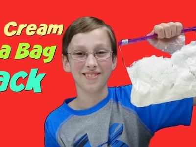 Homemade Ice Cream In A Bag Hack - Quick & Easy DIY Recipe   CollinTV
