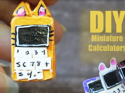 LPS DIY: Miniature Calculators Tutorial ♥