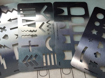 Manicure Monday | Bundle Monster DIY Decal Making stamping plate templates Review