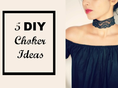 5 DIY Choker Ideas