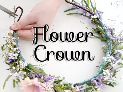 Baby Shower Flower Crown & DIY Station