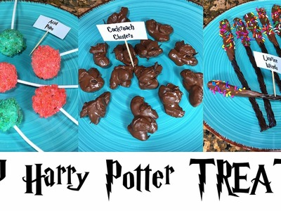 DIY Harry Potter inspired treats!