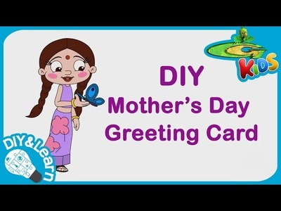 DIY - Mother's Day Greeting Card video for Kids
