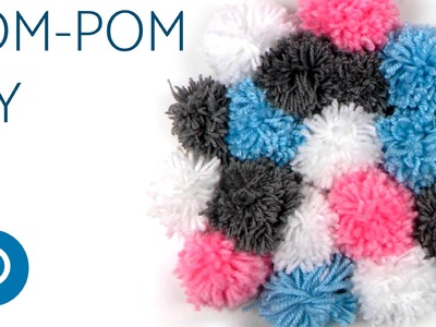 DIY Pom Pom Wall Hanging - Easy home decor ideas