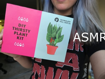 DIY Thirsty Plant Kit! Soft-Spoken ASMR Science Project & Maker Box Demo
