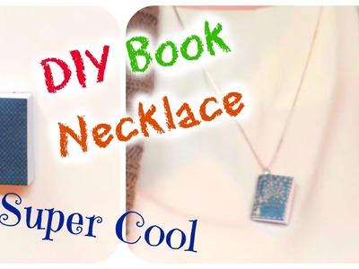 DIY Book Necklace